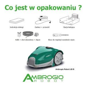 Ambrogio L30 (2.5) Basic robot koszący trawe do samodzielnego montażu