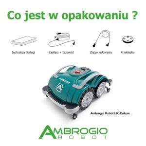 Ambrogio L60 Deluxe + robot odkurzający Neato D3+  za 1 złoty