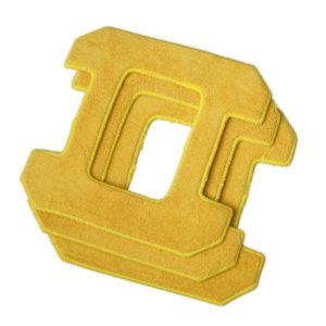 Zestaw mopów z mikrofibry do Hobot 268/288/388 3 szt. kolor żółty
