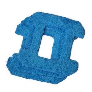 Zestaw mopów z mikrofibry do Hobot 268/288/388 3 szt. kolor niebieski