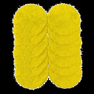 Zestaw mopów z mikrofibry do Hobot 188/198/368 12 szt. kolor żółty