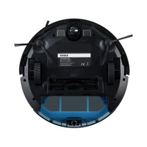 TESLA RoboStar iQ300 czarny robot odkurzajaco-mopujący, aplikacja i komendy w języku polskim NOWOŚĆ